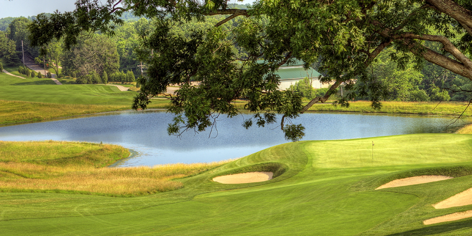 The Pete Dye Course at French Lick